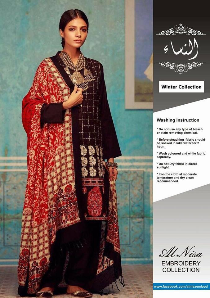 Khaadi Winter Collection Khaddar With Wool Shawl