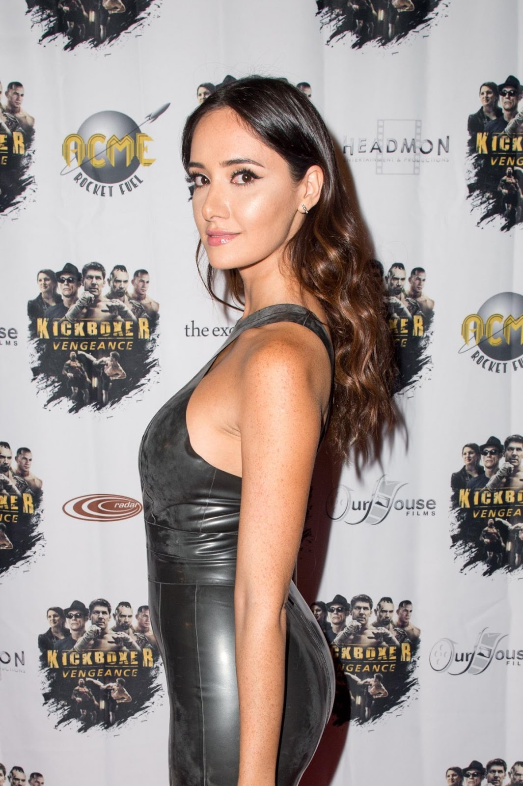 Sara Malakul Lane At Kickboxer Vengance Premiere In West Wood