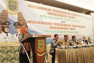 Musrenbang RPJMD dan RKPD, Walikota Ingatkan Pentingnya Implementasi Program