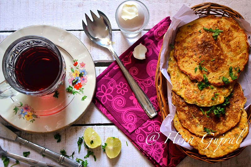 is a Gluten Free good for yous breakfast alternative Corn Besan Cheela (Corn together with Gram Flour Savory Pancakes)
