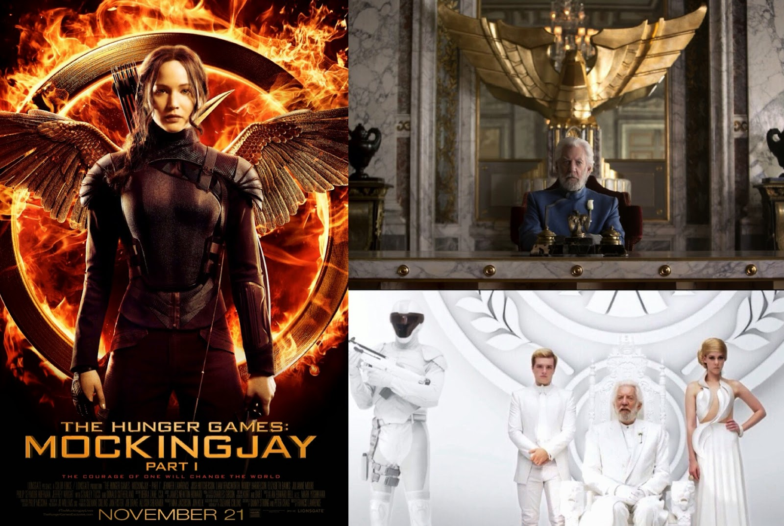 In Theaters Today The Hunger Games Mockingjay