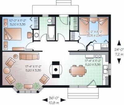 Planos de casas modelos y dise os de casas planos de for Planos de casas economicas