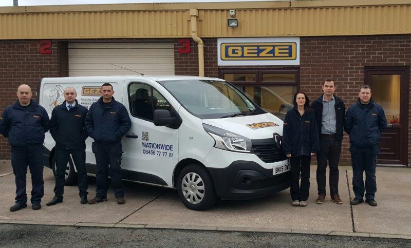 New service office gives GEZE UK a head start & The Door Industry Journal: New service office gives GEZE UK a head start