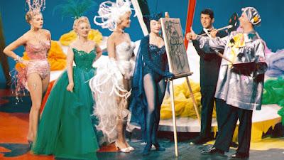 Cómicos en París (Artistas y modelos) (1955) Artists and Models