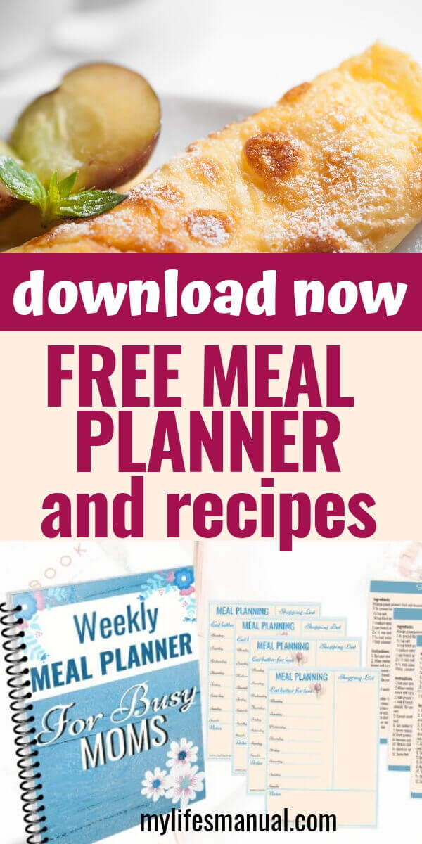 free meal planner for busy moms. Instant pot recipes