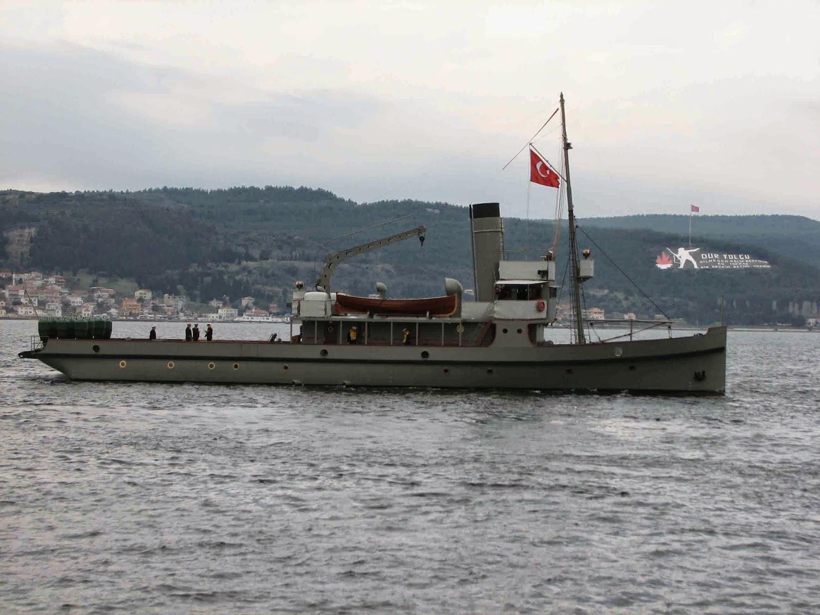 ilginc - nusret11 - Nusret Mayın Gemisi ve Hikayesi