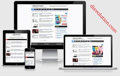 Template Terbaru 2017 Jurnalistik Template Download Gratis