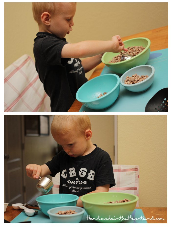 Toddler Activities: Dry Beans