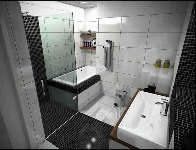 contoh desain kamar mandi sederhana dan murah