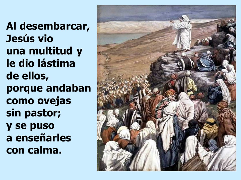 Prelatura de Caravelí: XVI Domingo del Tiempo Ordinario, 22-07-2018 ...