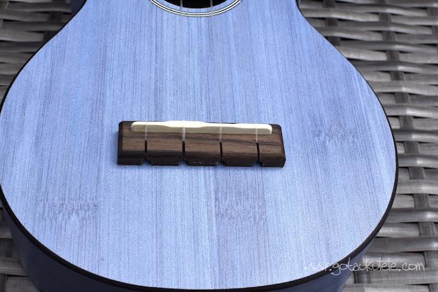 Martin OX Bamboo Soprano Ukulele bridge