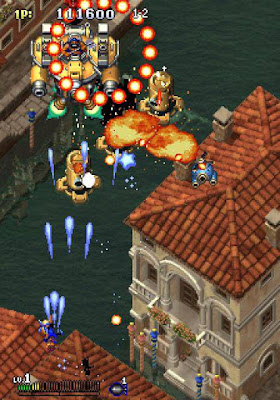 Gunbird+arcade+game+videojuego+portable+shoot'em up+bullet hell+download free