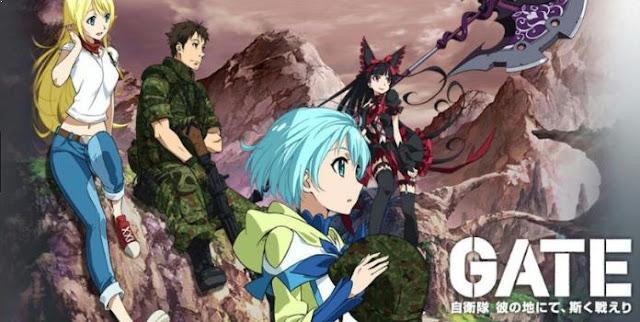 Gate: Jieitai Kanochi nite, Kaku Tatakaeri - Anime Action Fantasy Terbaik dan Terseru