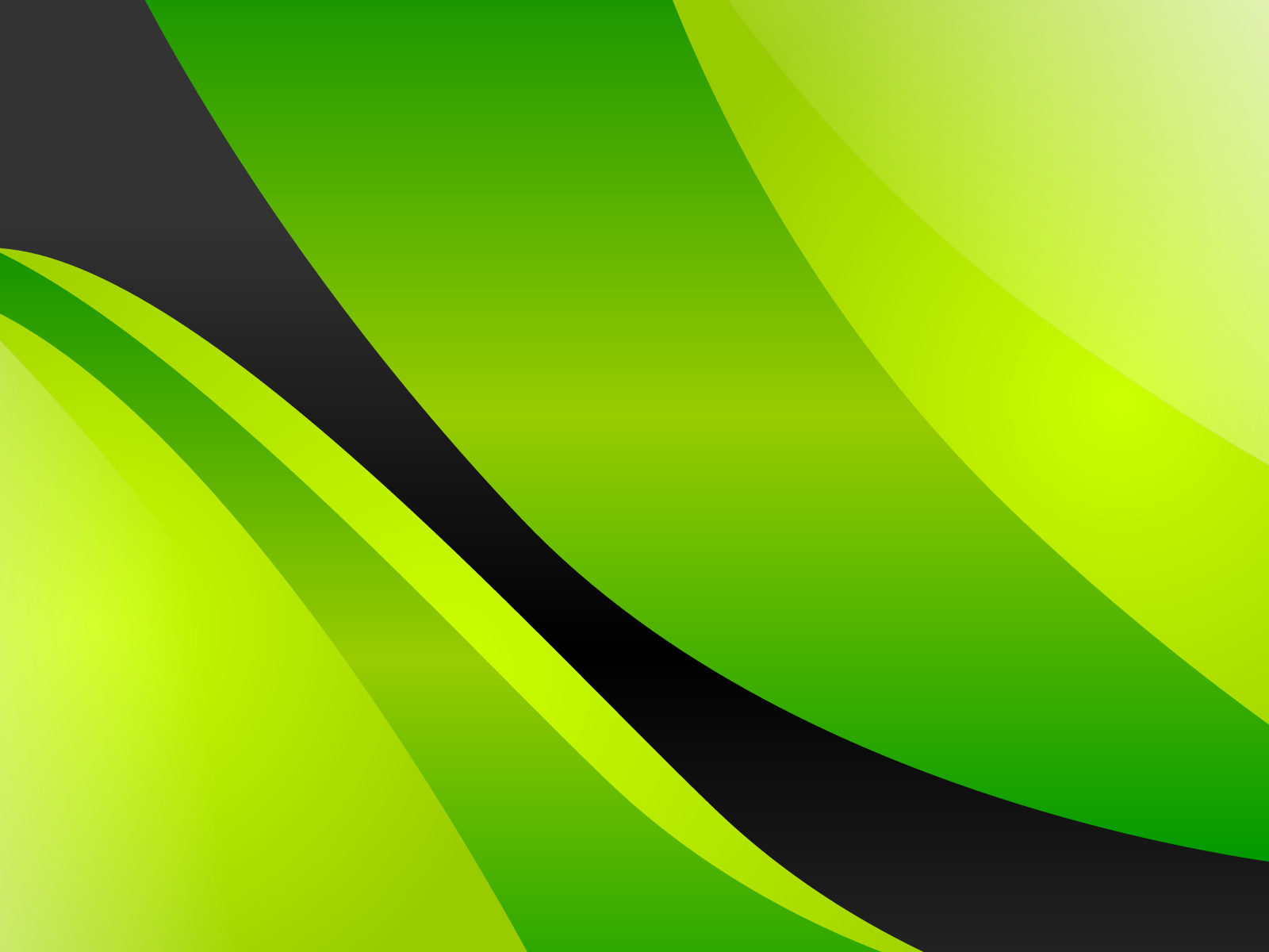 Black and White Wallpapers: Green-Yellow Abstract Wallpaper