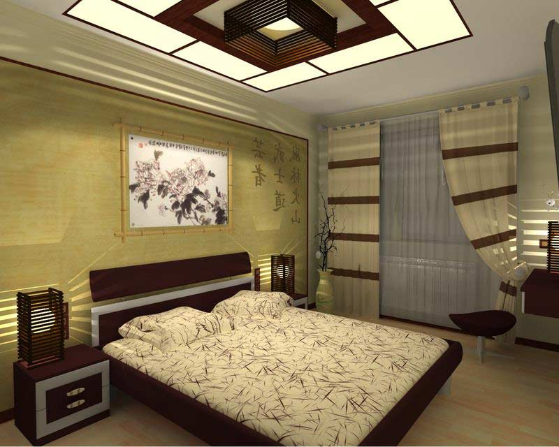 Japanese Bedroom Design Ideas Photos: