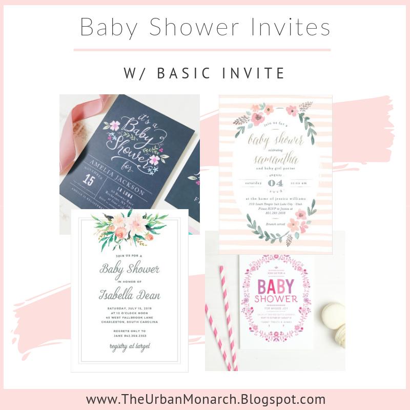 Customizable Baby Shower Invitations