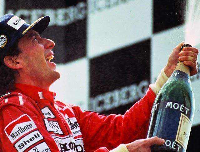 Muito obrigado, Senna