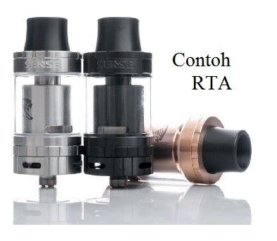 Perbedaan RDA dan RTA Vapor