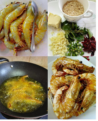 Cara masak udang goreng nestum