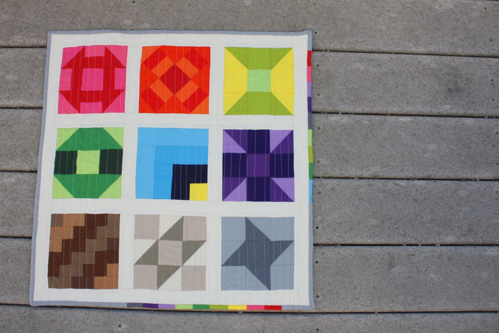 Farmer's Wife Quilt Along meets Modern Solids - Diary of a ... - photo#43