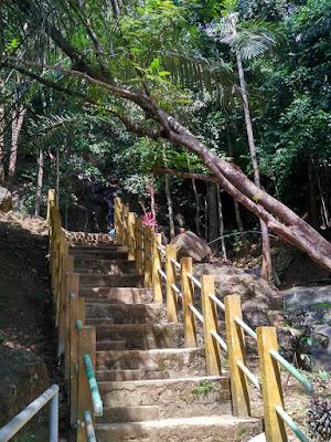 lokasi air terjun gunung bintan