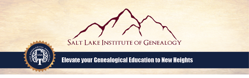 SLIG at Utah Genealogical Association