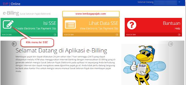 SSE E-Billing DJP Online Untuk Bayar Uang Tebusan Tax Amnesty, bayar uang tebusan amnesti pajak