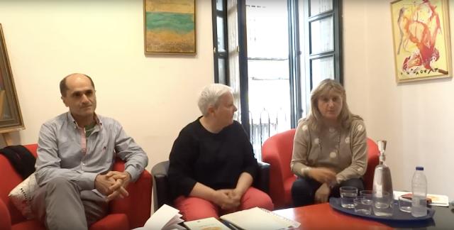 LOLA CALLEJÓN presenta EL TIEMPO COMO PRUEBA en SEVILLA