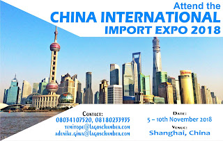 Join the LCCI delegation to the 2018 china international import export