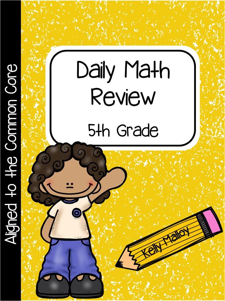 An Apple For The Teacher: Daily Math Review
