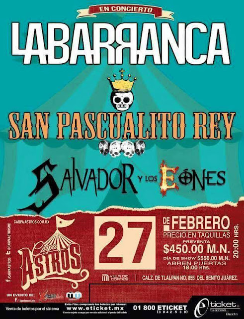 rock en carpa astros