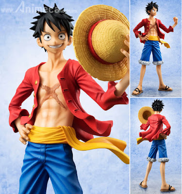 Figura Monkey D. Luffy Ver.2 Sailing Again Excellent Model P.O.P (Encore) One Piece