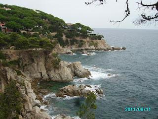 costa brava skały
