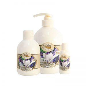 Velvy Goat's Milk Shower Cream Silk dan Grape Seed Oil