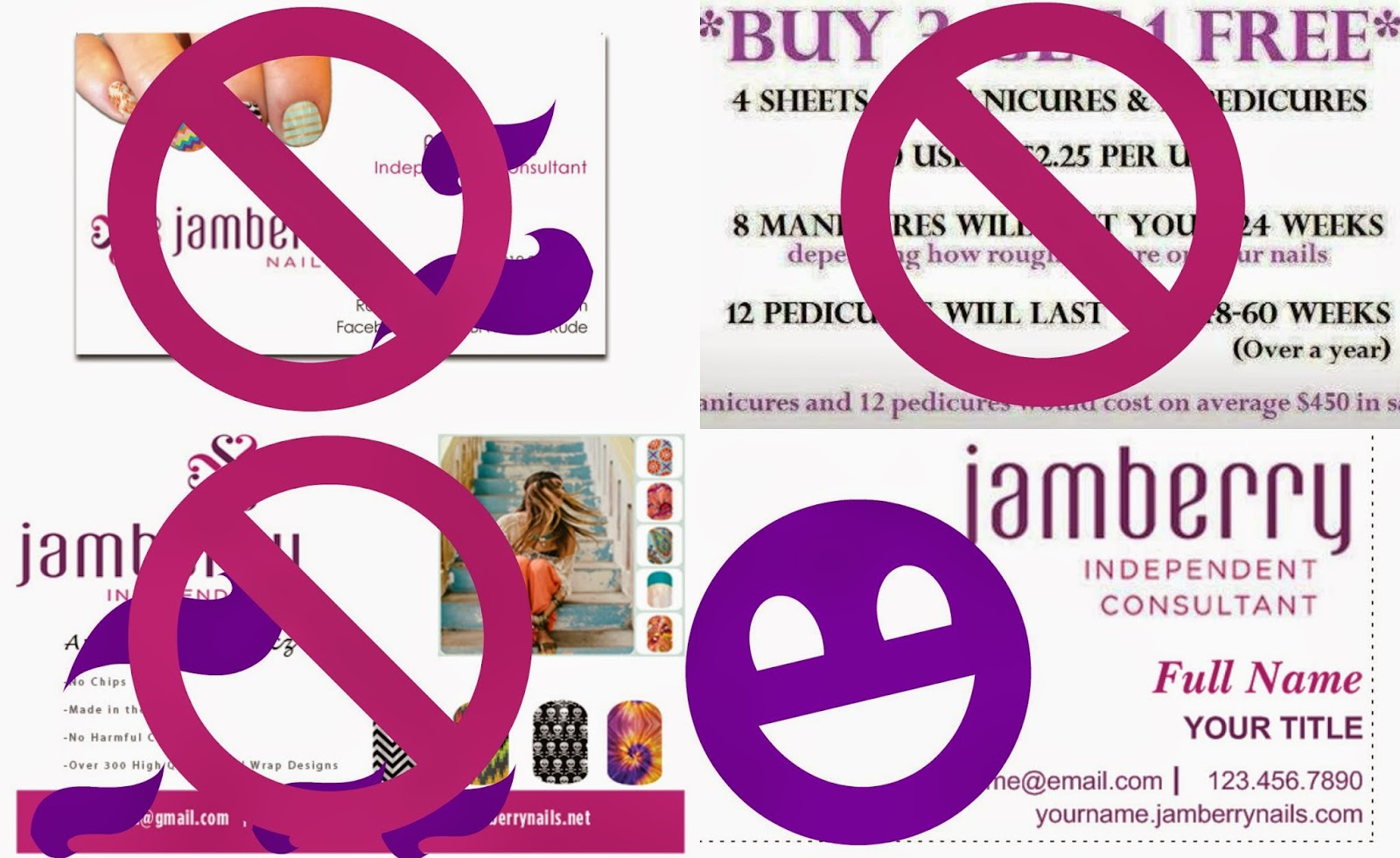Jamberry Nails Uses Vistaprint Update Business Cards