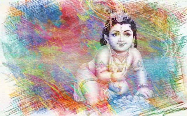{15+} Krishna Janmashtami Drawing Images Sketches Paintings for Kids