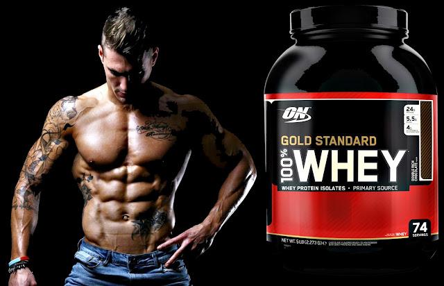 Empezar a tomar Gold Standard Whey Proteína