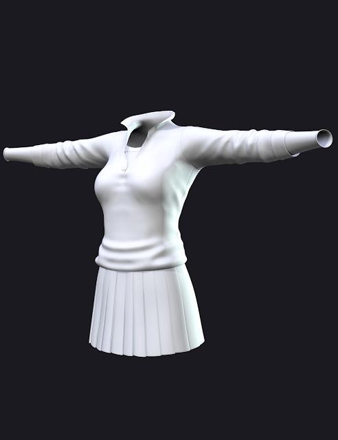 Polo Girl for Genesis 3 Female