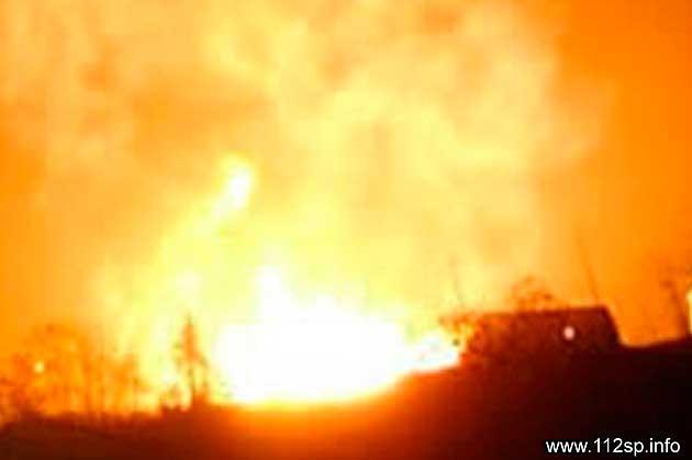 В СНТ «Дивный» сгорел дачный дом Сергиев Посад