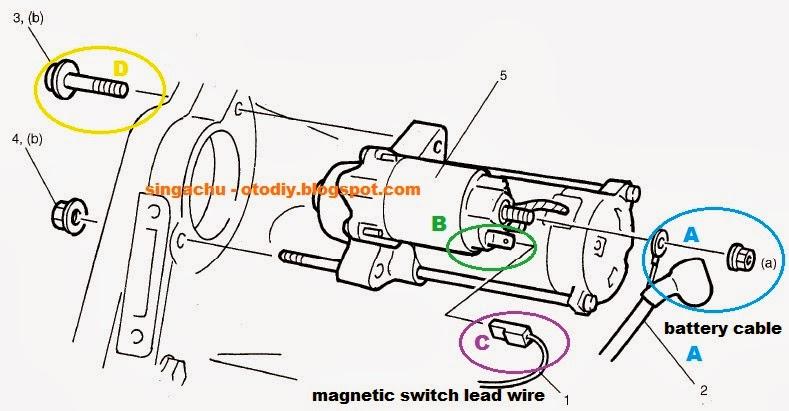 Diy   Membuat Dan Memasang Relay Motor Starter Aerio    Next G