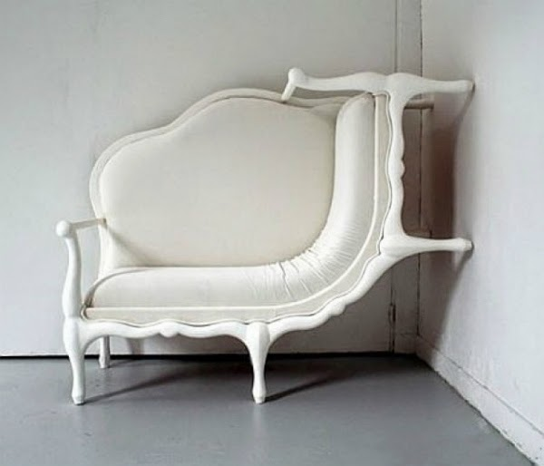 Creative Furniture Ideas Part - 19: Creative Sofa With Hidden Table And Chair