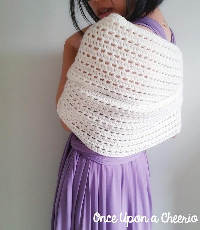 Midsummer 3-Way Infinity Scarf FREE Crochet Pattern