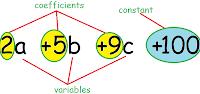 identify algebraic expression