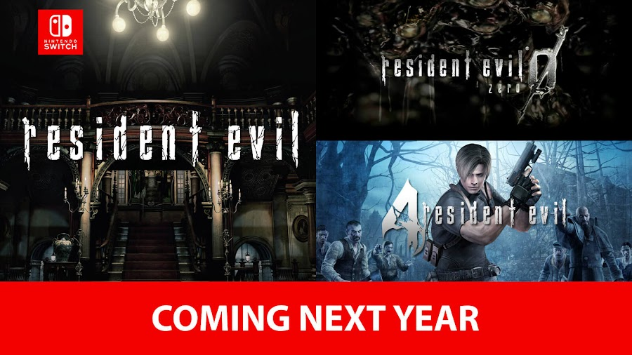 resident evil classic games nintendo switch