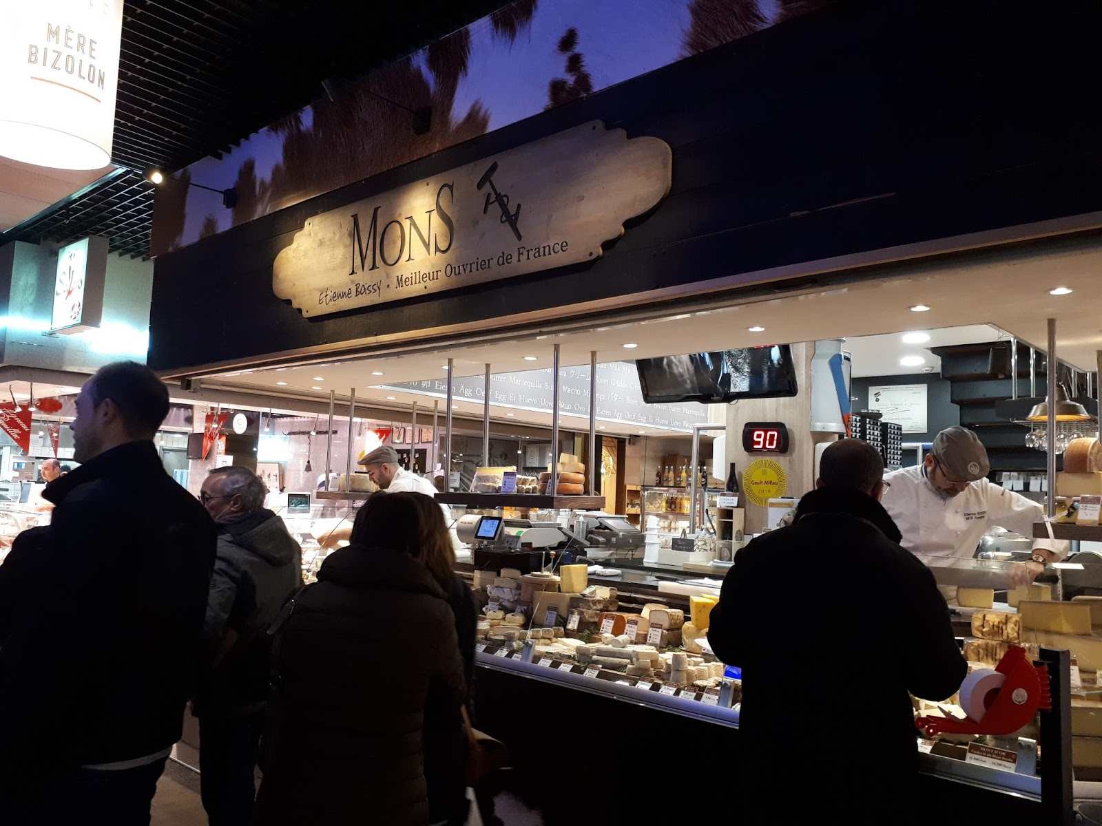 fromagerie Mons halles paul bocuse
