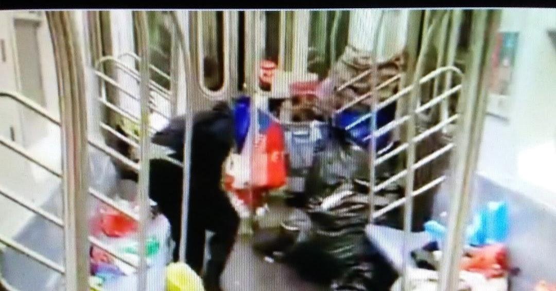 Welcome to Bill de Blasio's New York Video Captures Garbage in Subway Car, Progressive Policies Don't Work, Ruin Cities