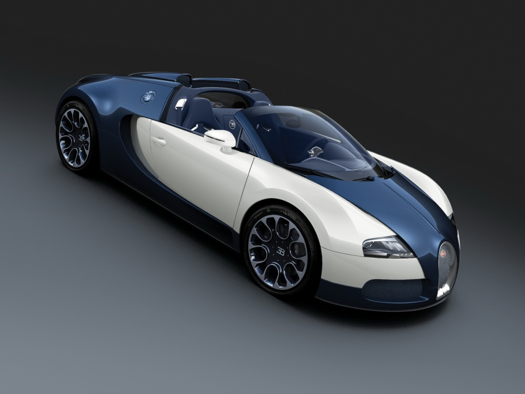 Pictures Blog: Bugatti Veyron Black and White