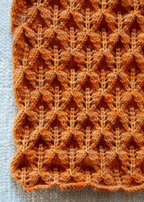 Lovely Leaf Lace Scarf - Free Pattern