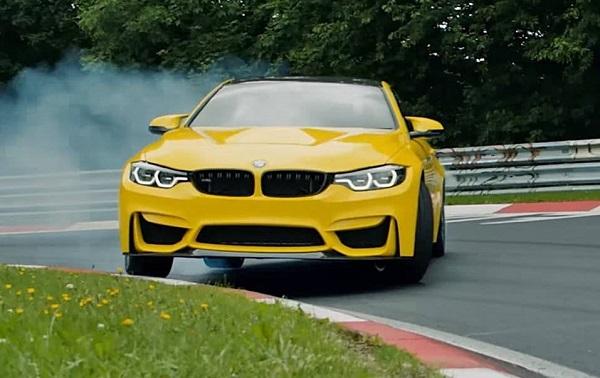 BMW M4 CS Pennzoil Drift Video