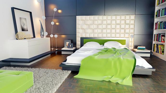 Wallpaper: Bedroom Design
